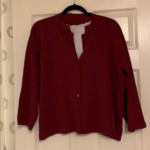 Eileen Fisher Italian Wool Cardigan
